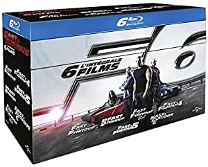 Fast and Furious - Coffret 6 films [Blu-ray]