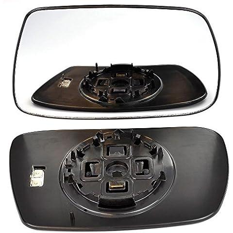 Diritto, lato conducente Wing Clip per porta in vetro a specchio per Jeep Grand Cherokee 2004–2009calore - Jeep Grand Porta Laterale