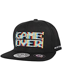 WITHMOONS Cappellini da Baseball Cappello Baseball cap Snapback Hat Game  Over Embroidery AL21081 4c6ff890f14b