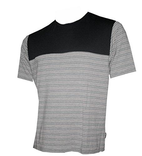 Schneider Sportswear Herren POLO Shirt - T-Shirt Sportshirt schwarz/grau/weiß/Shirt