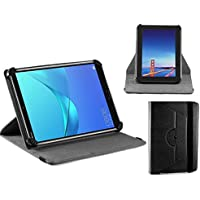 Navitech housse étui folio noir avec stylet pour Winnovo M866 Wifi Tablet 8 Inch