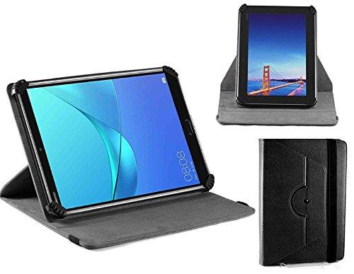 Navitech housse étui folio noir avec stylet compatible avec NeuTab 10 1  inch Tablet PC