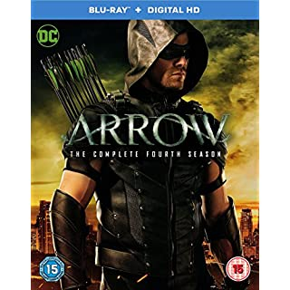 Arrow - Season 4 [Includes Digital Download] [Blu-ray] [2016] [Region Free]