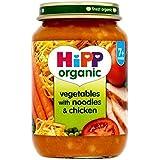 Hipp Légumes Biologiques Avec Des Nouilles Et Poulet 7 + Mois 190G