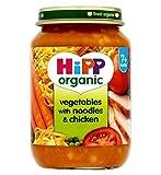 Hipp Bio-Gemüse Mit Nudeln Und Hähnchen 7+ Monate 190G - Packung mit 2
