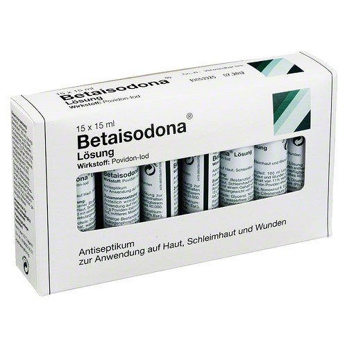 BETAISODONA Lösung standardisiert Bottle Pack 225 ml Lösung