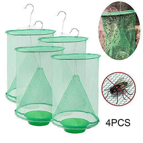 FOONEE Fliegenfalle, Effektivste Indoor- Und Outdoor-Fliegenfänger, Ungiftiger