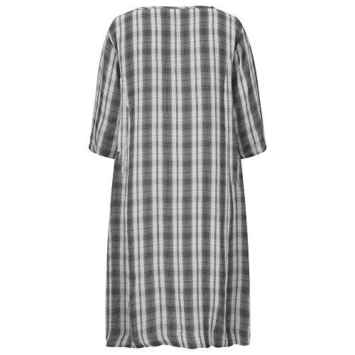 Masai Clothing -  Vestito  - Donna Black Org