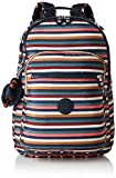 Kipling CLAS SEOUL Cartable, 45 cm, 25 liters, Multicolore (Multi Stripes)