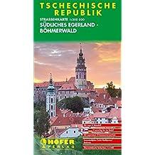 Höfer Straßenkarten, Tschechische Republik, Südliches Egerland-Böhmerwald (Tschechien)
