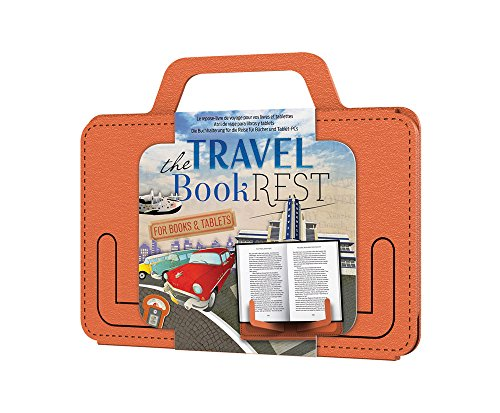 That Company Called If Travel Book Rest - Atril plegable, color naranja