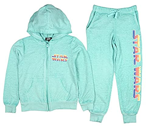Star Wars Little Girls' 2 Piece Hoodie And Sweatpants Set