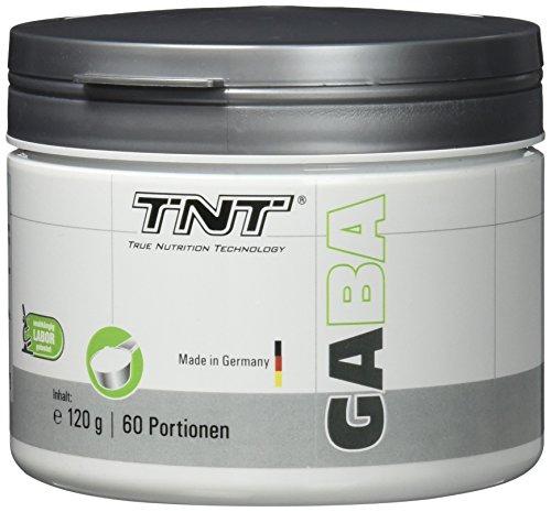 GABA Pulver – Entspannt schlafen – Steigerung der HGH Wachstumshormone – gegen Schlaf-Probleme / 120g NEUTRAL (Schlafen Gamma-aminobuttersäure)