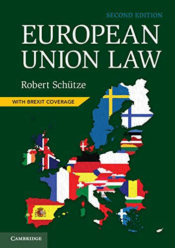 European Union Law por Robert Schütze