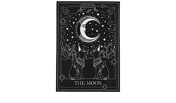 Killstar Copriletto The Moon Tapestry