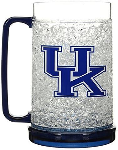 NCAA Kentucky Wildcats 16-Ounce Crystal Freezer Mug