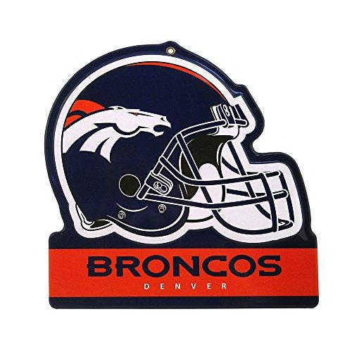 Party Animal NFL DENVER BRONCOS Metall Helm Schild