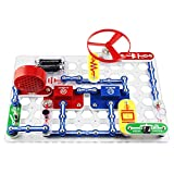 Snap Circuits Jr. PLUS SC-110 Electronics Exploration Kit | Over 110 STEM Projects | Full Color Project Manual | 30+ Snap Circuits Parts | STEM Educational Toy for Kids 8+