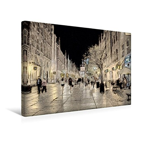 Calvendo Premium Textil-Leinwand 45 cm x 30 cm Quer, Weihnachtseinkäufe | Wandbild, Bild auf Keilrahmen, Fertigbild auf Echter Leinwand, Leinwanddruck Kunst Kunst
