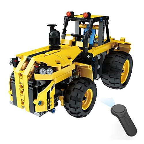 TianranRT 1: 18 DIY Montieren RC Autos Legierung 2.4G Radio Kontrolle Ziegel Lkw Spielzeug Geschenk (D)