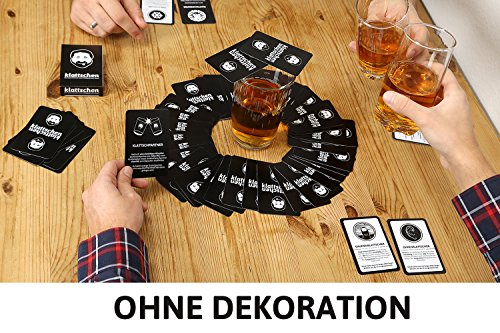 klattschen - Trinkspiel - Das wahrscheinlich beste Trinkspiel aller Zeiten - Partyspiel - Spiel für Erwachsene - Saufspiel und Geschenkidee zum Geburtstag - ähnlich wie