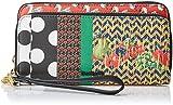 Desigual Lola Patch Two Long Wallet FiestaDati:o Materiale: 100% poliestereo Dimensioni: Larghezza di circa 20 cm, altezza di circa 11 cm, profondità 4 cmo Colore: Fiesta (verde / nero / bianco)o Fabbricante: Desigual