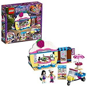 4ed5e9f77702 LEGO 41366 Friends Olivia's Cupcake Café Playset, Olivia and Emma  mini-dolls Toy Scooter and Accessories, Fun Set for Kids: Amazon.co.uk: Toys  & Games