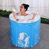 HuaLEiX Aufblasbare badewanne Erwachsene Faltbare badewanne Haushalt Bad Barrel Erwachsene Bad klapp...