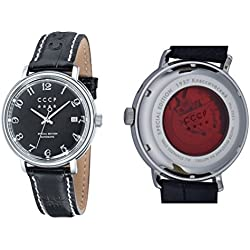 CCCP Men's CP-7021-01 HERITAGE Analog display Automatic Black Watch