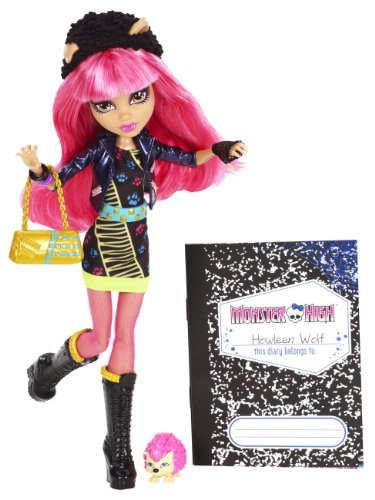 Mattel Monster High BBK01 -  13 Wünsche Howleen, Puppe