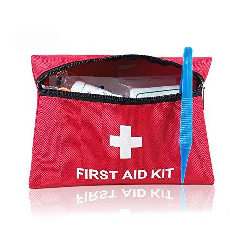 Erste-Hilfe-Set, Erste-Hilfe-Tasche, YOCZOX Verbandskasten, Mini wasserdichtes Erste-Hilfe Set, Bewegliches Haupt/Outdoor notwendiges, First aid kit, Besonders geeignet für Hause und Outdoor, 12er Set (Haupt-tasche Eine)