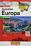 Autoatlas Navigator Europa 2019/2020: Strassenatlas, 1:800 000, incl. Free Download (Hallwag Atlanten)
