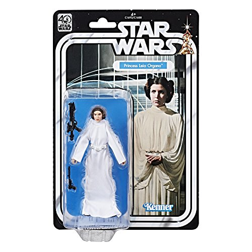 Star Wars - Figure of Princess Leia Organa of the 40 Anniversary of Episode IV (Hasbro C1693EU40)
