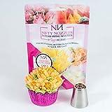 Zarte Blütenblatt Tulip Paspelierung Düse für Kuchen und Cupcake Dekoration