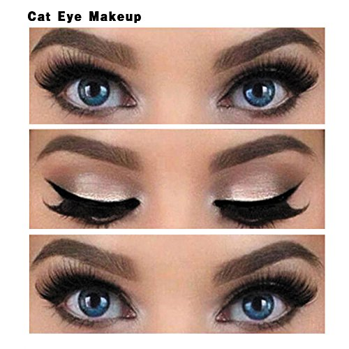NALATI 6PCs Stencils for Perfect Cat Eyeliner and Smoky Eyes Makeup Tools