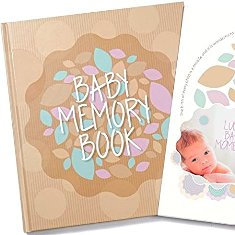 Livre de mémoire pour bébé et souvenir pour la première