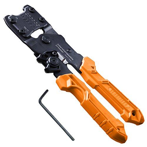 Outil de sertissage de précision avec matrices interchangeables (TailleS). Engineer Pad-11Handy Crimp Tool