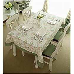 mantel patchwork de flores de encaje para el hogar / comedor