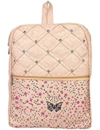 Aadhunik Libaas Stylish Printed Fashion PU Leather Backpack, College  Backpack, Tution Backpack, Office d28b47ec4a