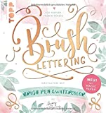 Brush Lettering. Gestalten mit Brushpen und Watercolor by May and Berry: Mit einem Bogen Magic Paper zum Üben und direkt Loslegen