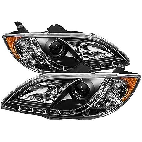 Spyder Auto Mazda 3 Sedan Black DRL LED Crystal Headlight by Spyder Auto