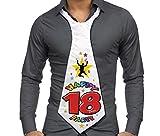 CRAVATTONE 18 ANNI - Cravatta Gadget idea regalo festa 18° Compleanno uomo