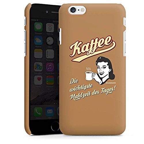 Apple iPhone X Silikon Hülle Case Schutzhülle Kaffee Statement Lustig Premium Case matt