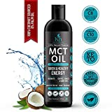 Kayos Naturals MCT Oil from Coconut Oil - Unsweetened Keto Diet Sports Supplement