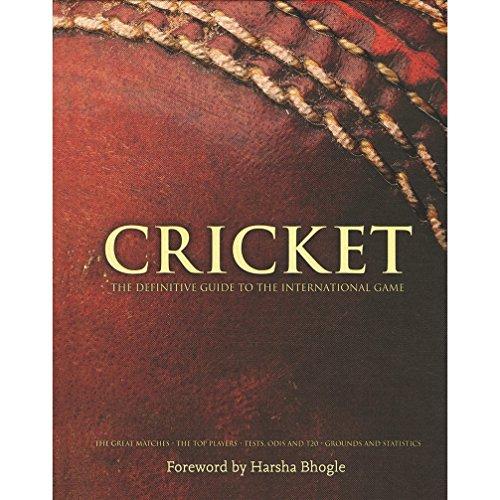 CRICKET The Definitive Guide To The International Game [Hardcover] [Feb 19, 2013] Harsha Bhogle por Harsha Bhogle