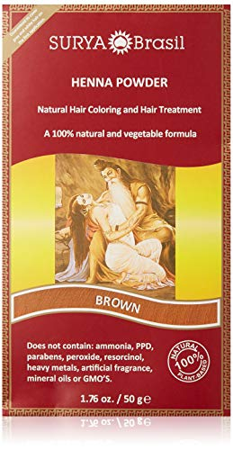 Natural Brown Henna Powder