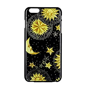 K9Q Vintage Retro Sun Moon Space Nebula Pattern Hard Back Skin Case Cover For Apple iPhone 4 4G 4S Style A