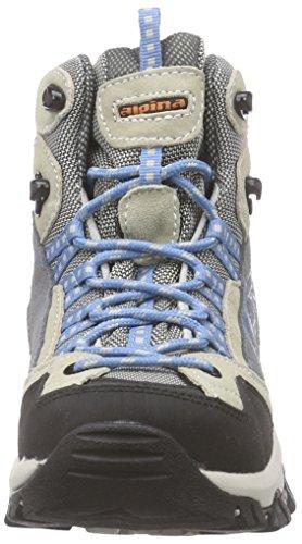 ALPINA - 680347, Scarpe da escursionismo Donna Blu (Blu chiaro)
