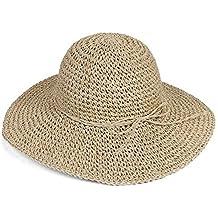 7ca6e711cf7ad Amazon.es  sombrero playa mujer - TININNA