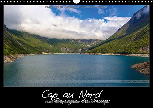 Cap Au Nord - Paysages De Norvege 2017: Calendrier Illustre De Paysages Scandinaves
